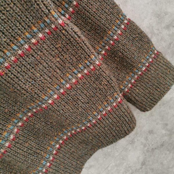 Men Vintage Strickjacke, Cardigan Size M/L