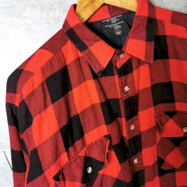 Vintage Flanellhemd gefüttert L