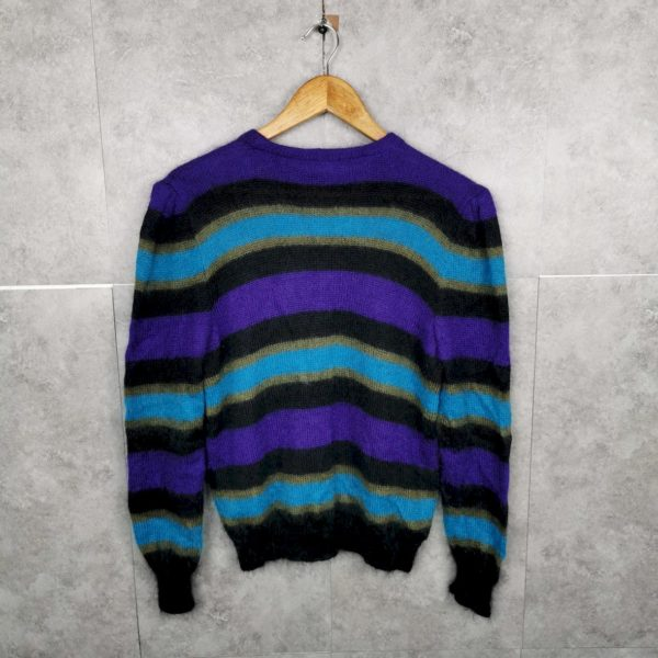 Mohair Wolle Vintage Pullover Damen S