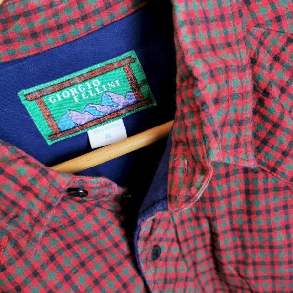 Flanellhemd- Jacke gefüttert xl