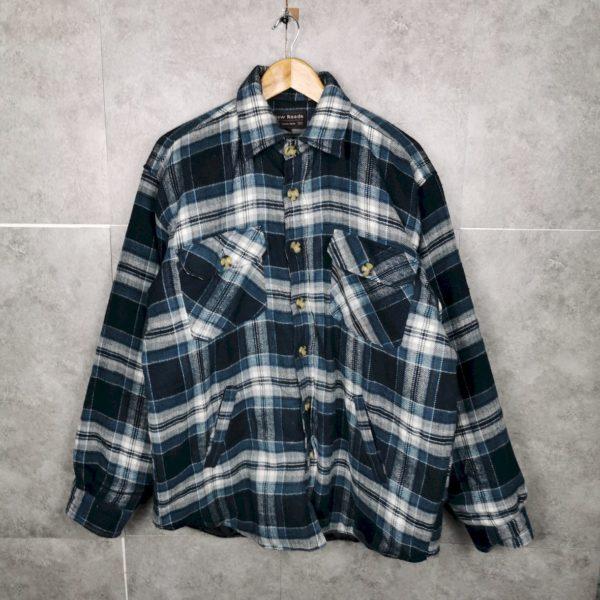 Vintage Flanellhemd gefüpttert L xl