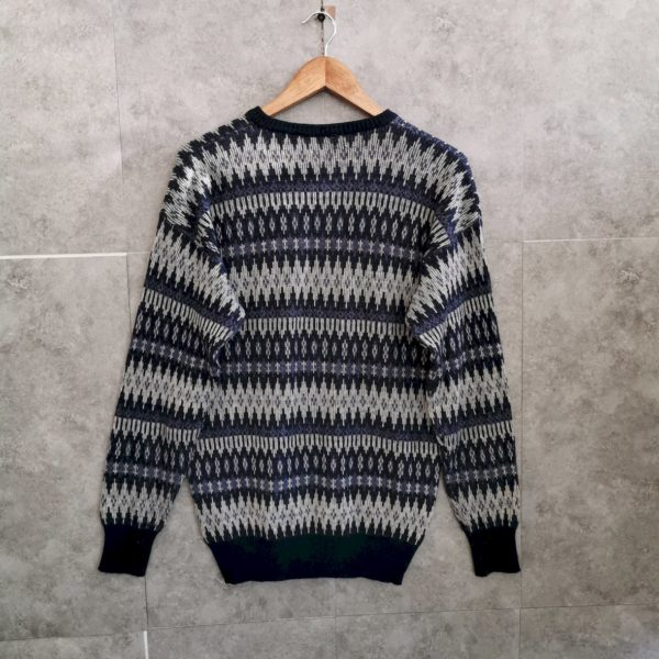80s 90s Vintage Knitwear Pullover