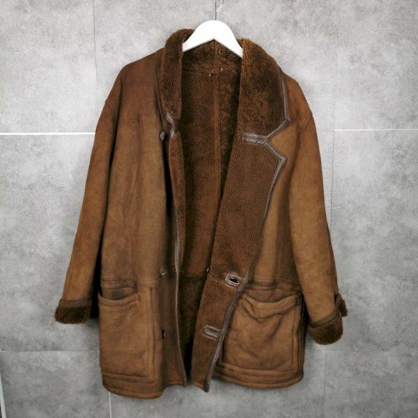 Echt Leder Mantel aus LammfellM/L