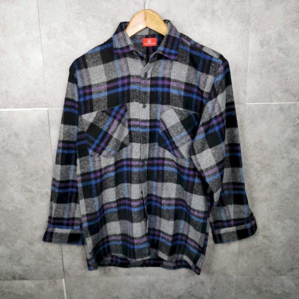 Flannel Vintage Hemd S