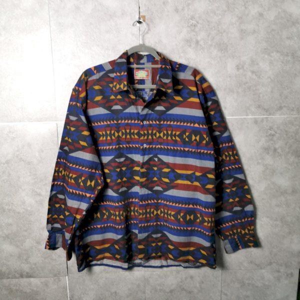 Globetrotter Vintage Ethno Shirt