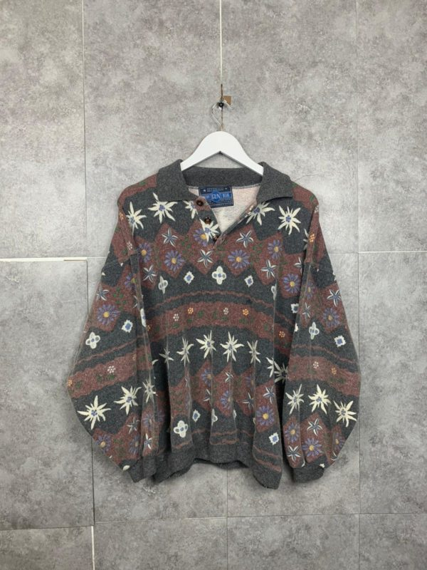 Vintage Polosweater 80s/90s