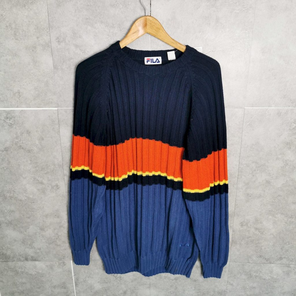 Fila Vintage Pullover Tall Strickwear