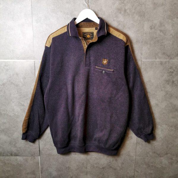 Vintage Pullover 80s/90s Half Zip