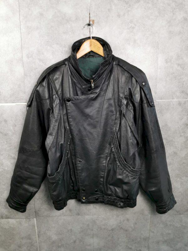 Vintage Echt Lederjacke M 80s Punkrock