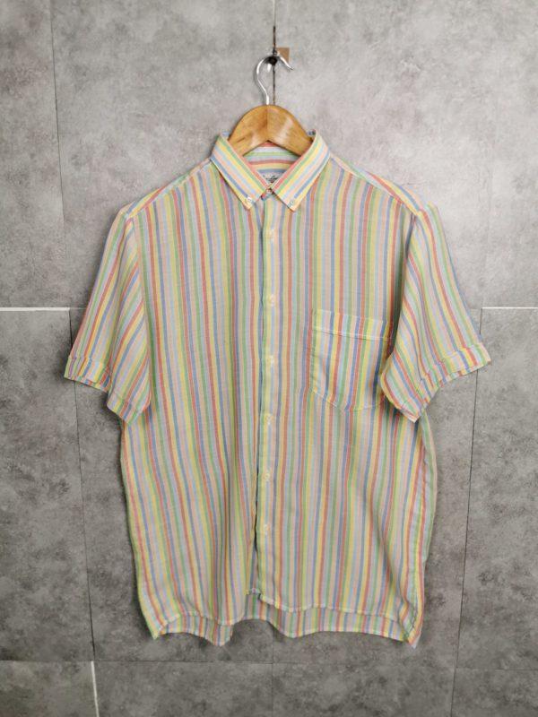 Frankreich Vintagehemd gestreift