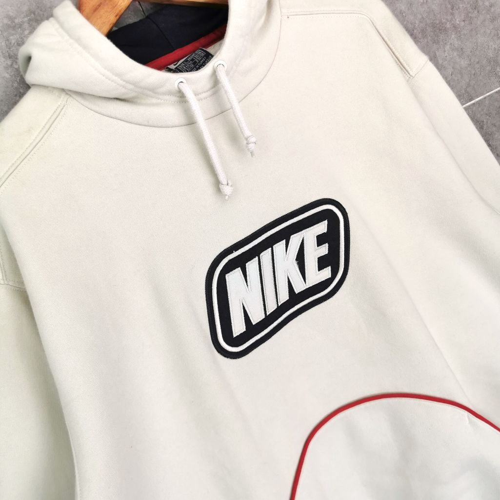 Nike vintage kapuzen hoddie groesse L oversize