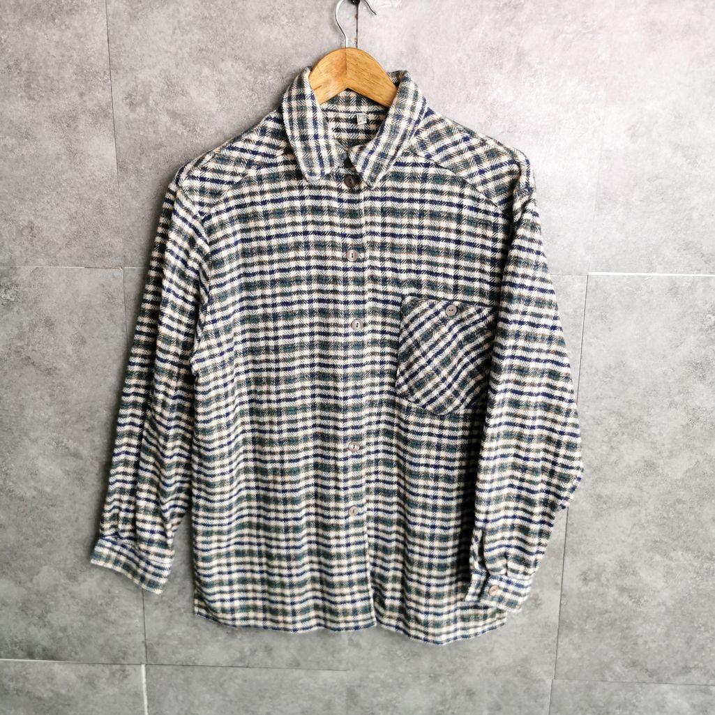 damen flanell vintage hemd