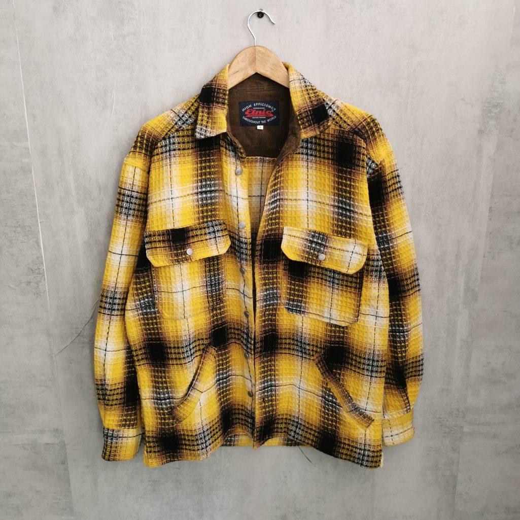80s Flannel Hemd Vintage Holzfällerhemd