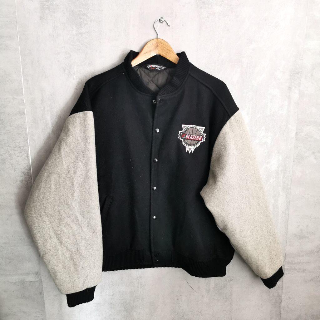 blazer baseball collge jacke aus wolle xl xxl