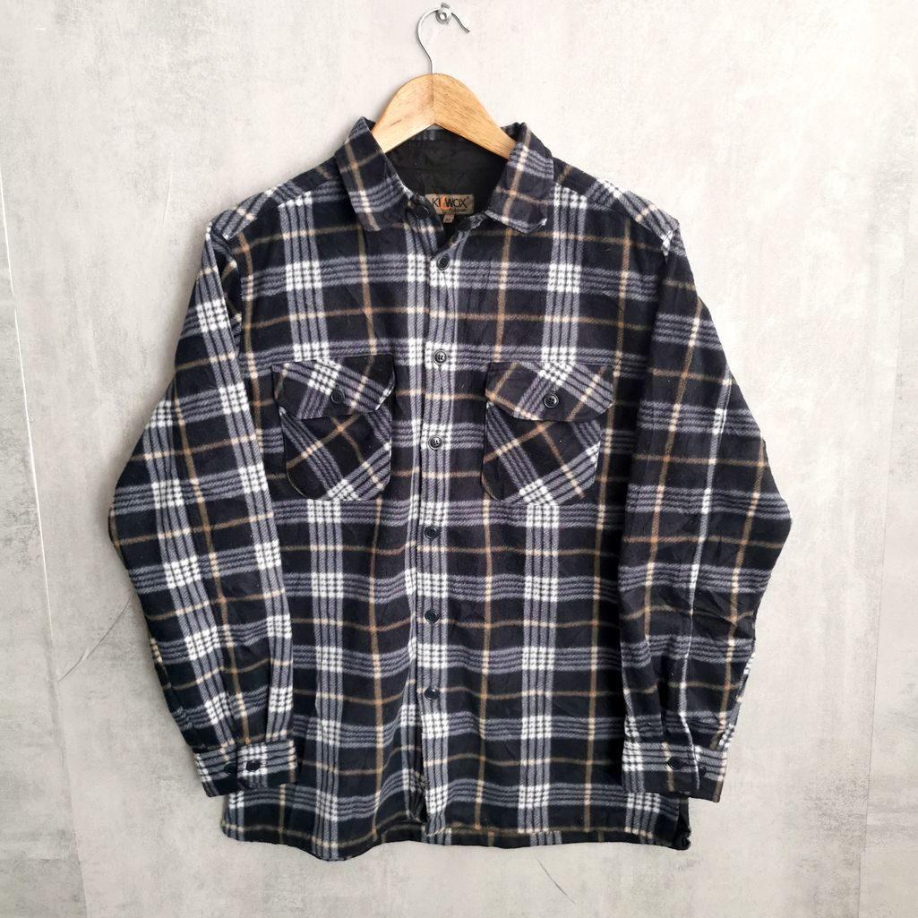 fleece vintage hemd holzfäller style