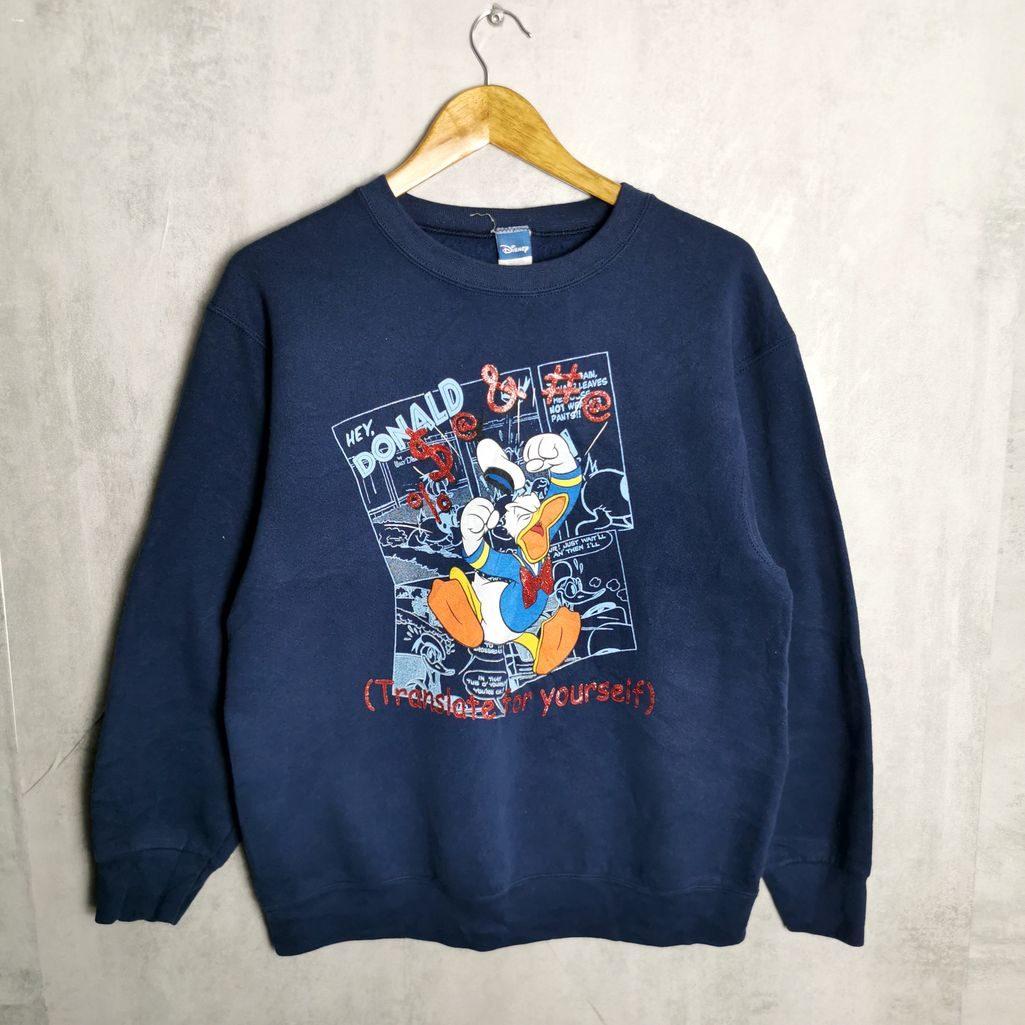 usa disney vintage sweatshirt donald duck