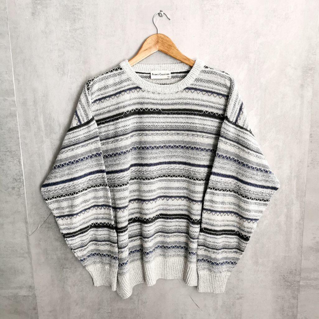 Franco Callegari Wool Jumper helletöne handmade