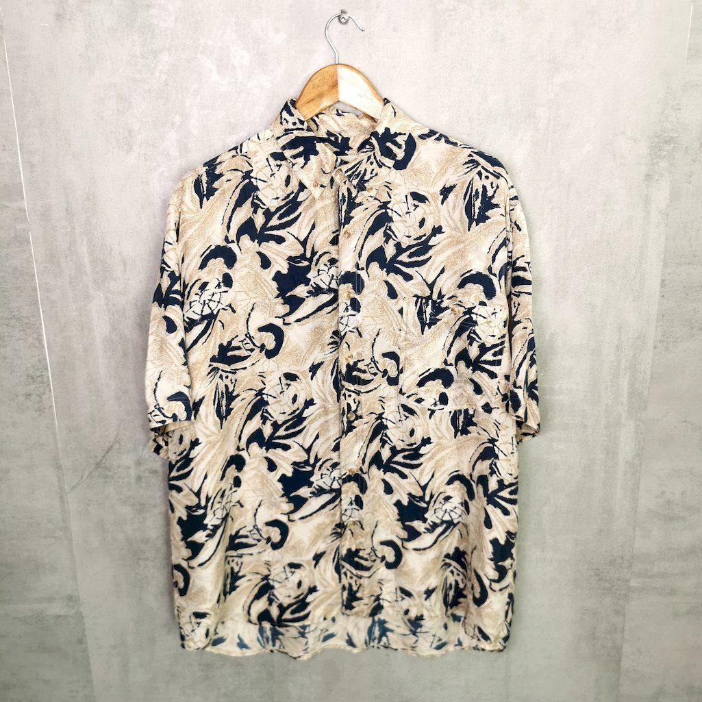 vintage seiden hemd