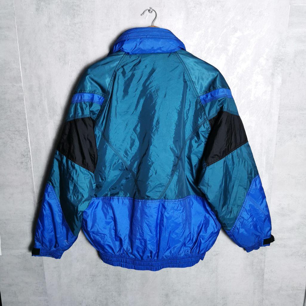 Rodeo 80er Nylon Vintage Puffer Jacke Ski Jacke Herren M/L