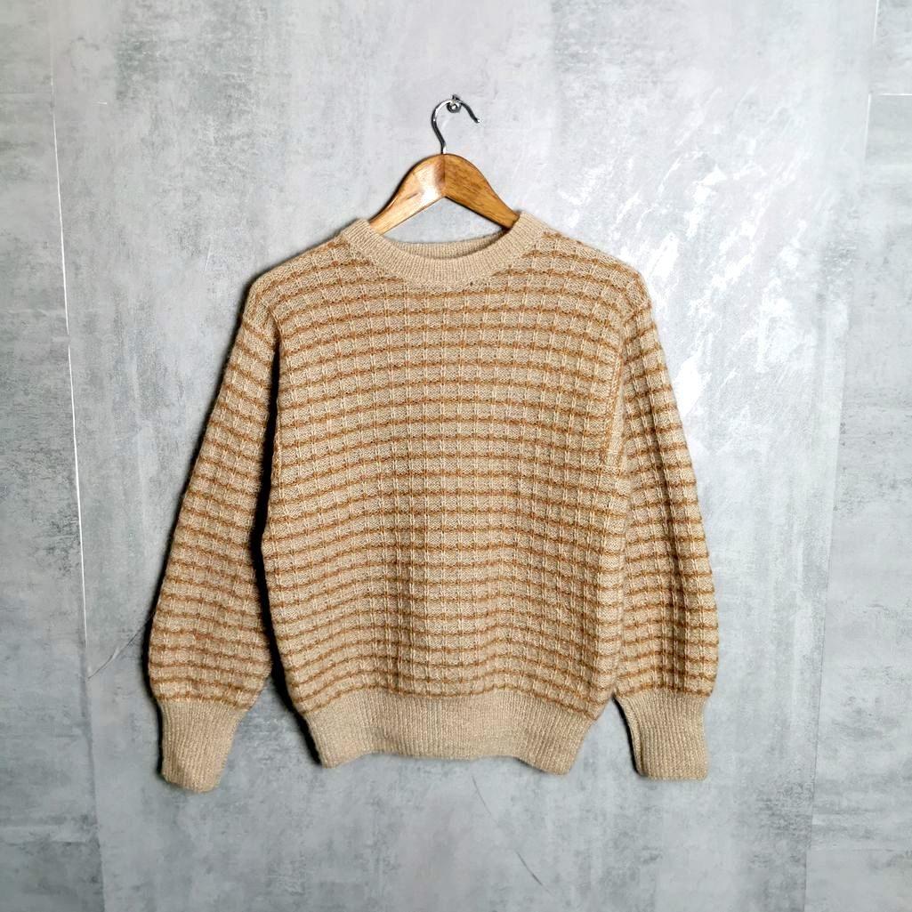 Angora Vintage Jumper Vintage Pullover knitting pattern Größe M