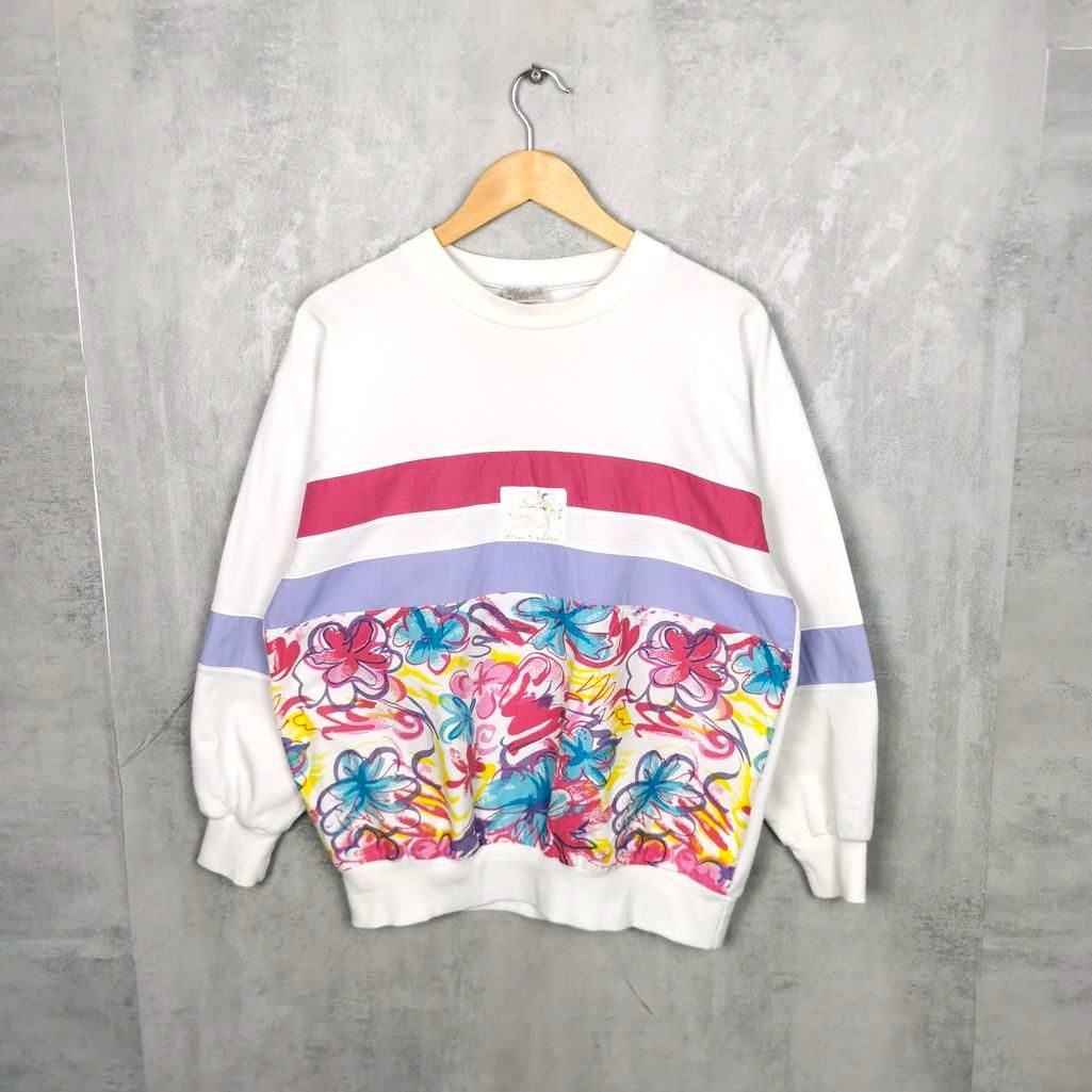Frauen Vintage Crewneck Sweater L
