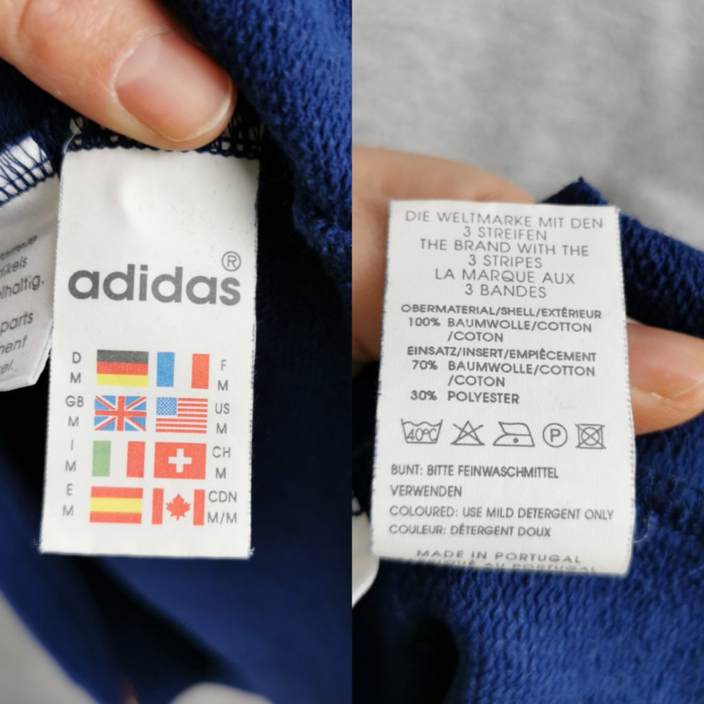 Rare! Olympia Adidas Vintage Sweater, Herren 80er Adidas Troyer M Oversize tall