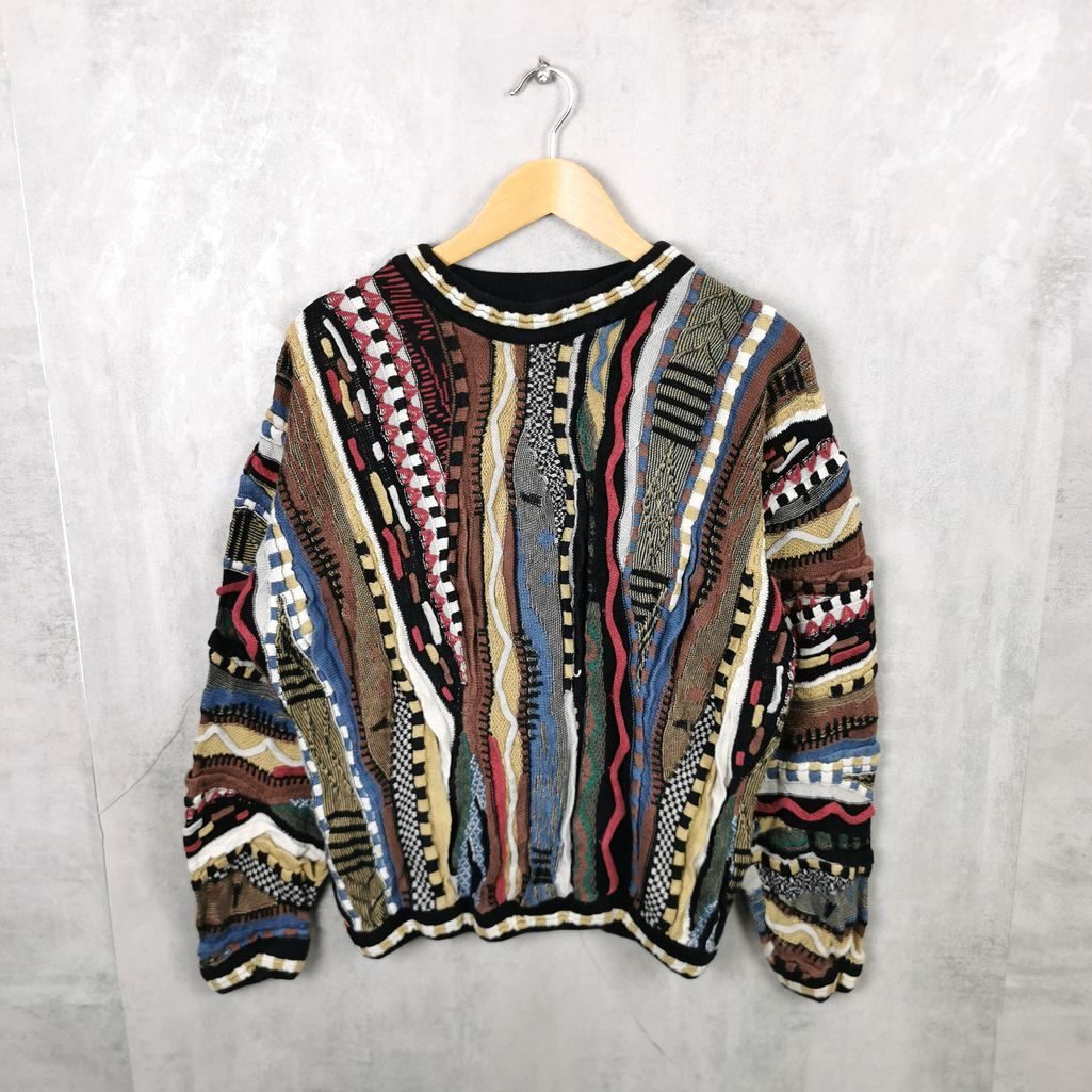 Selten! Vintage Tundra Canada Sweater, Coogi Vintage Crew Neck Pullover S/M