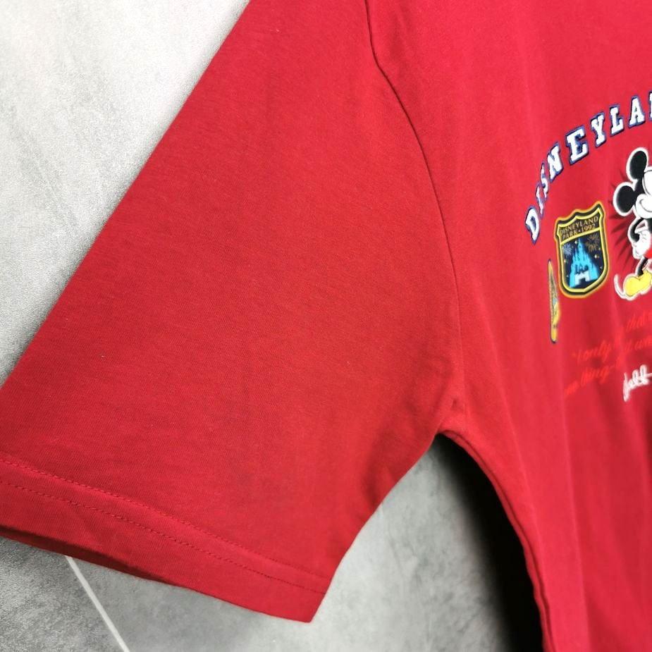 walt disney 90s vintage t-shirt disneyland paris frauen xl stickereien
