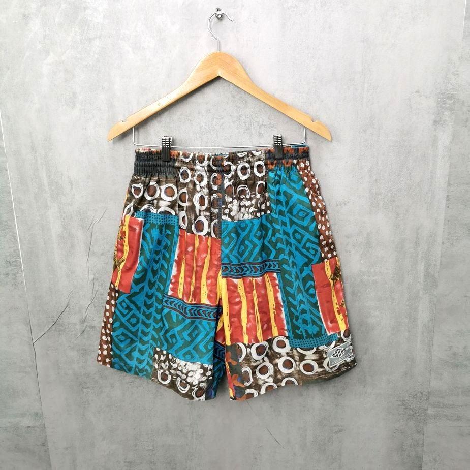 Rare! Mottom 80er 90er Vintage Badeshorts, Vintage Hose, Swimwear, 90s Herren Short L