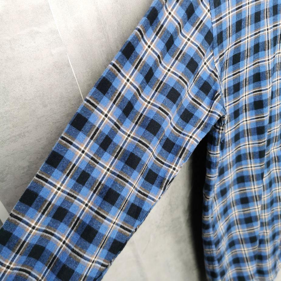 Rare! Amand Thiery Vintage Karo Hemd, 90er Flannelshirts Herren M tall