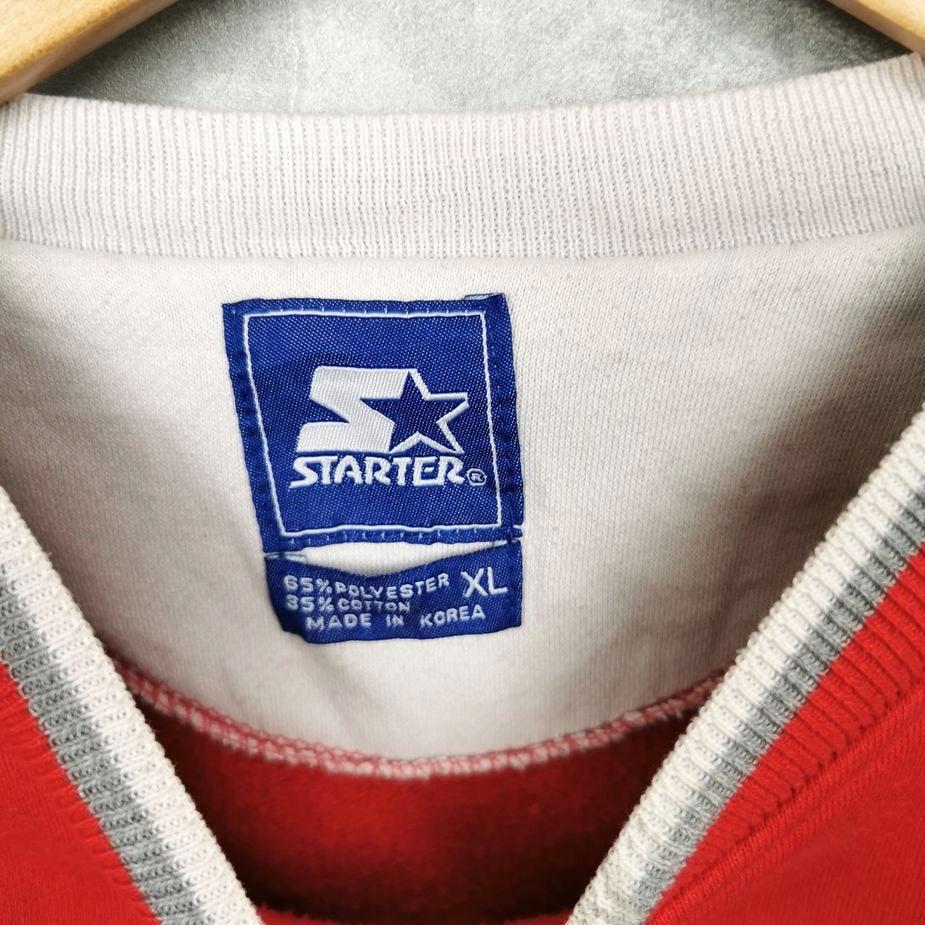 wisconsin badgers usa vintage college pullover herren xl mit gestickten print