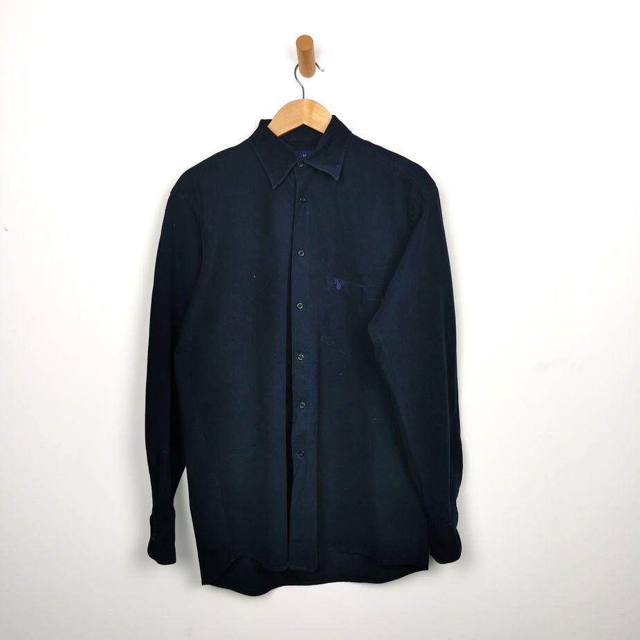 casa-moda-vintage-herren-kord-hemd-groesse-m-dunkelblau