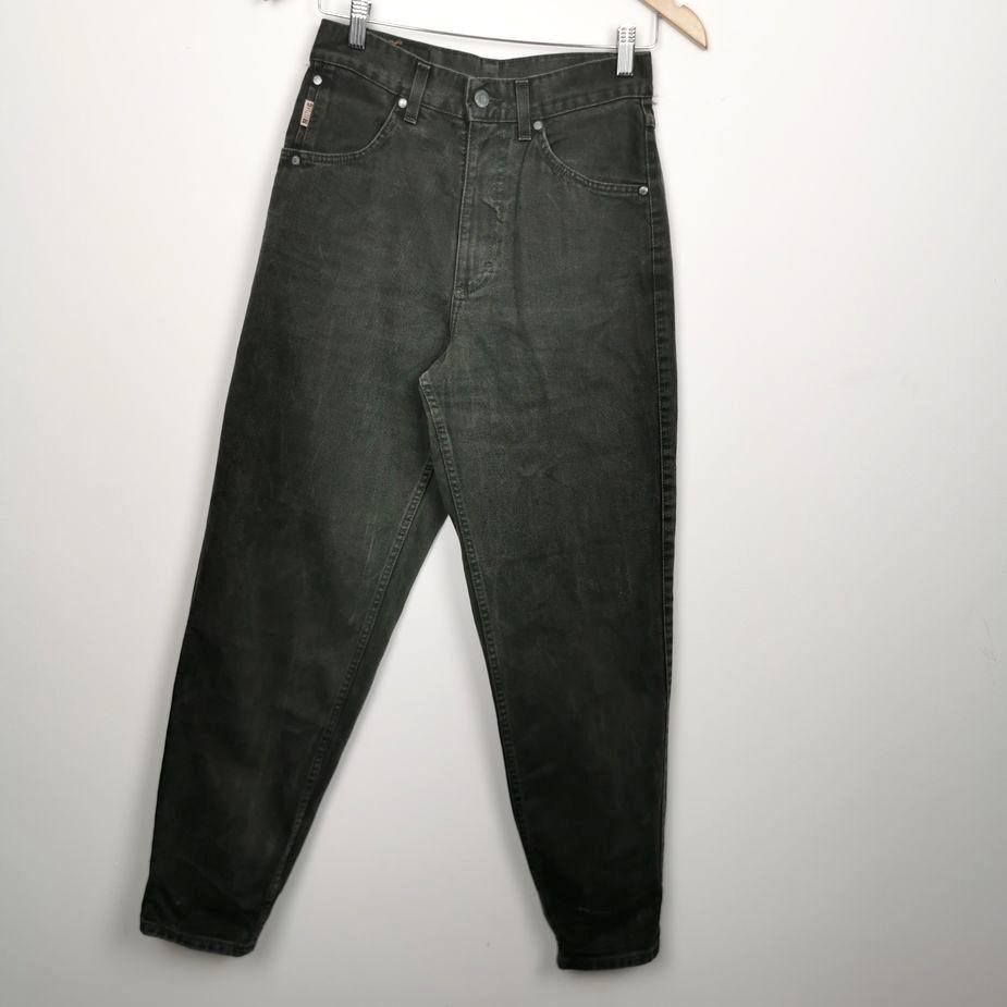 mustang-damen-vintage-jeans-grün-high-waist