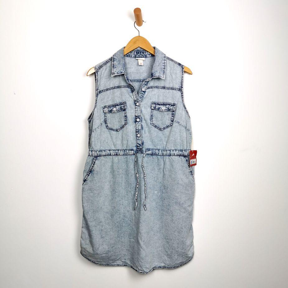 frauen-jeanskleid-massimo-supply-vintage-denim-kleid-stone-washed-groesse-front