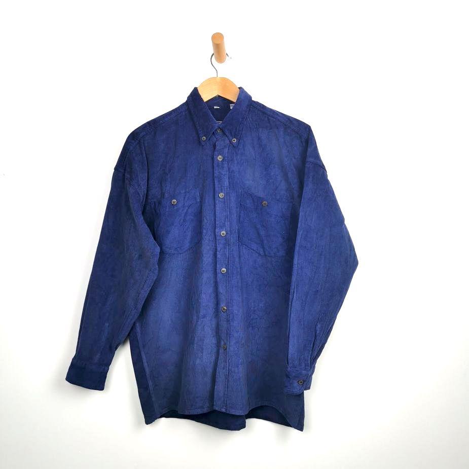 vintageherren-kordhemd-blau-groesse-l