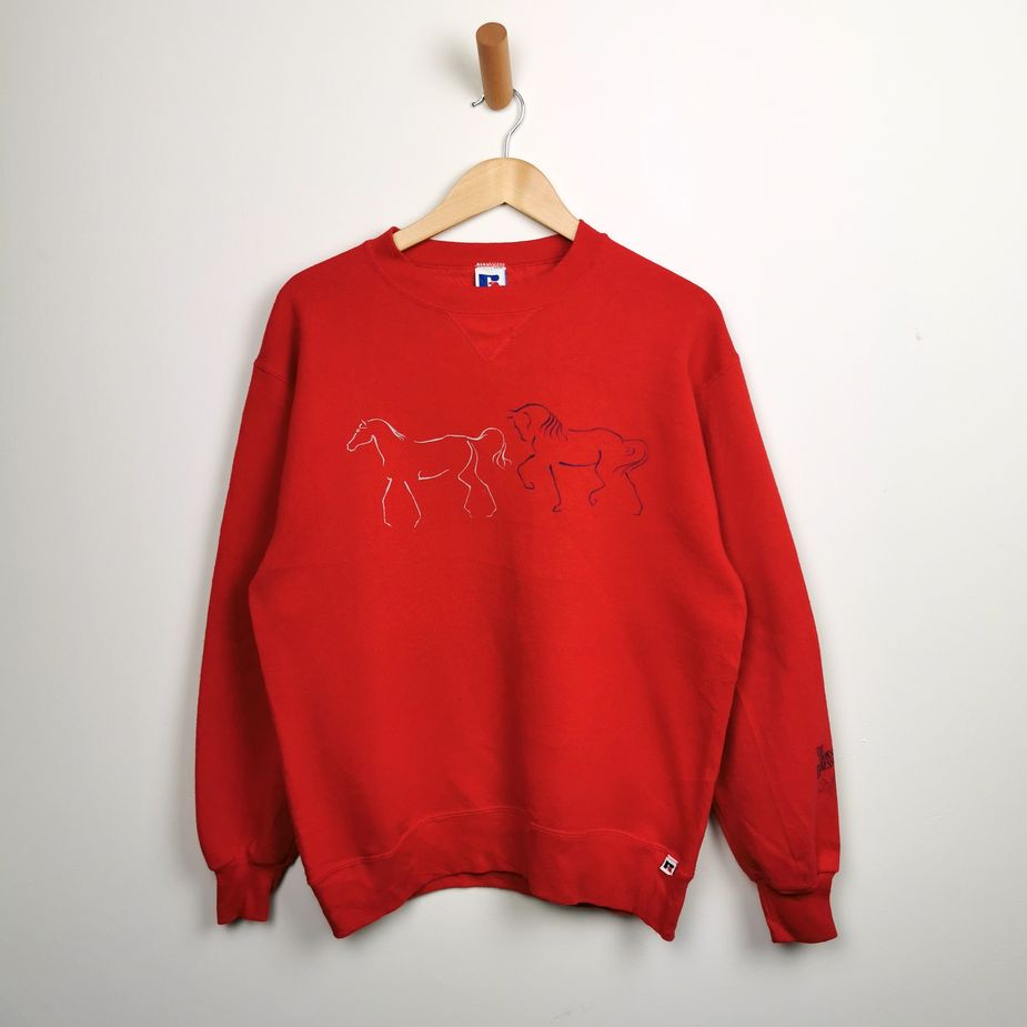 russell-atheletics-90er-vintage-pullover-damen-rot