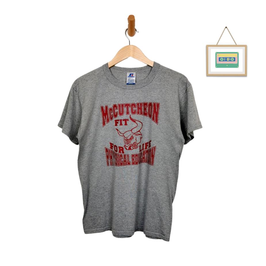 russell-atheletics-vintage-t-shirt-grau-rot