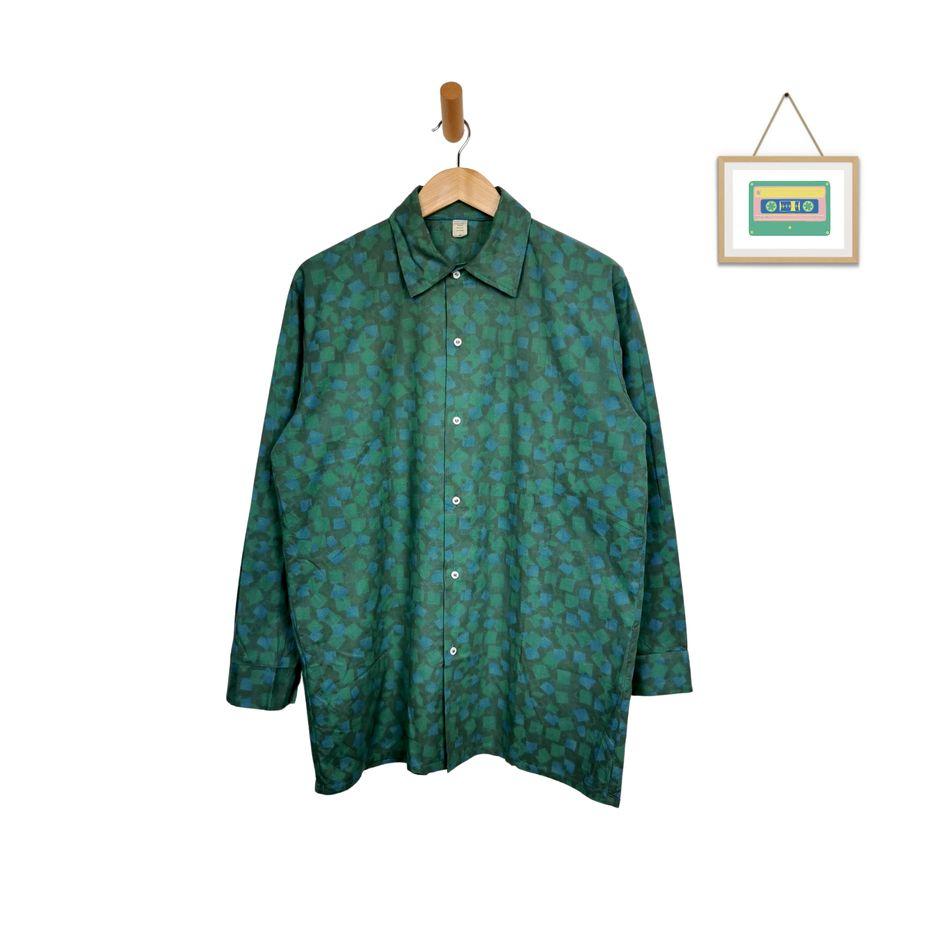70er-hippie-hemd-frauen-grün-blau-front