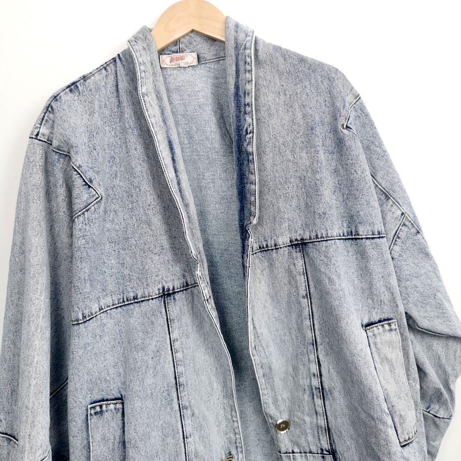 80er-frauen-vintage-blazer-überdimensional-stone-washed-denim vintage-jacke-details-vorne