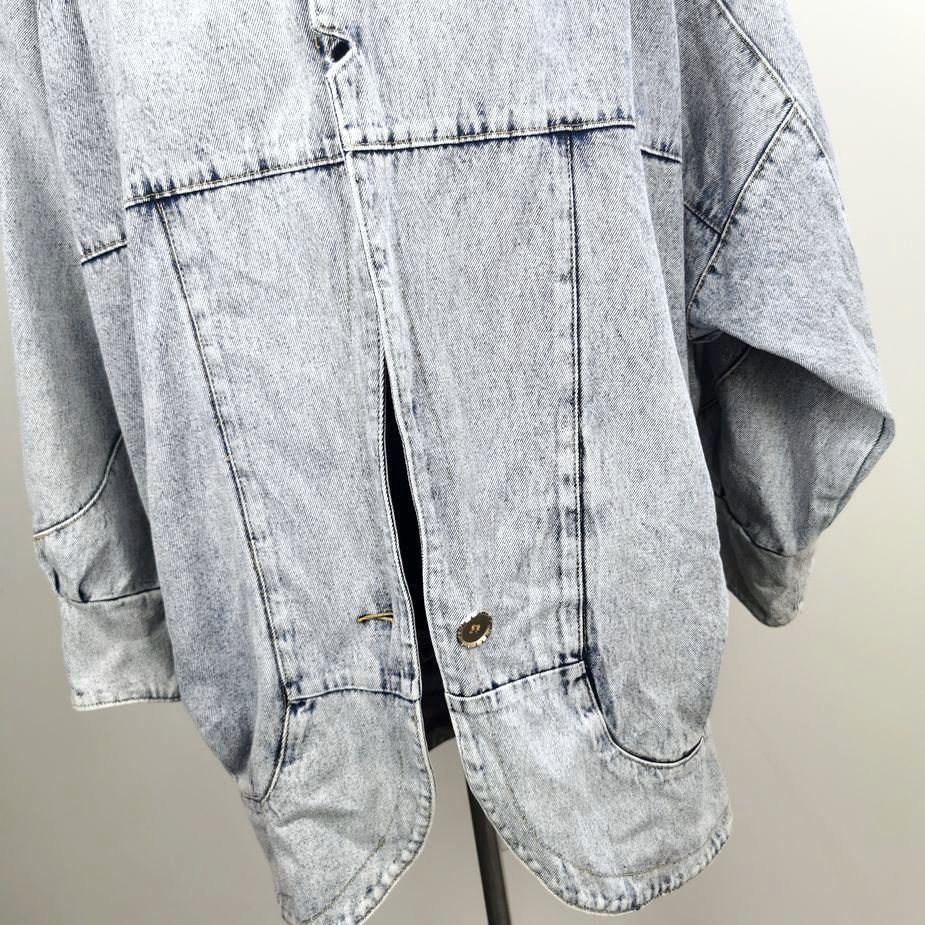 80er-frauen-vintage-blazer-überdimensional-stone-washed-denim vintage-jacke-details