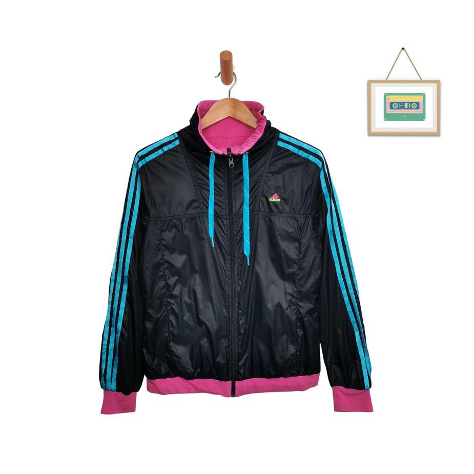 adidas-vintage-nylon-jacke-damen-wendejacke-groesse-38-front