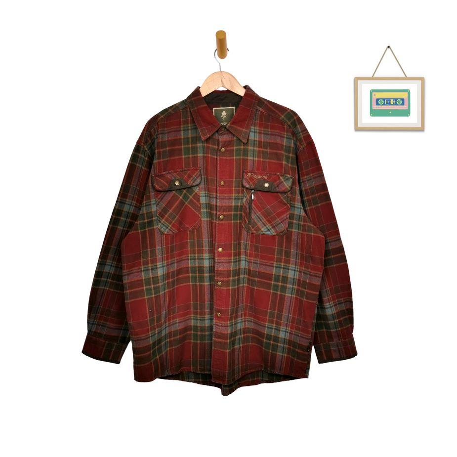 pinewood-outdoor-vintage-langarm-hemd-rot-grün-kariert-flanellhemd-herren-groesse-xxl-front