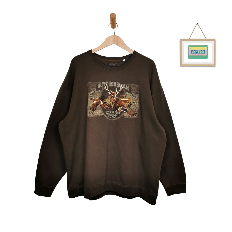 90er-vintage-pullover-fleece-animal-hirsch-sweater-gestickt-oversize-vintage-xxl-front