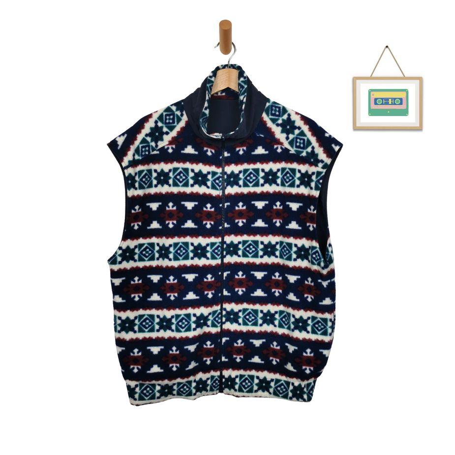 crazy-pattern-wendejacke-fleece-herren-fleece-weste-l-front