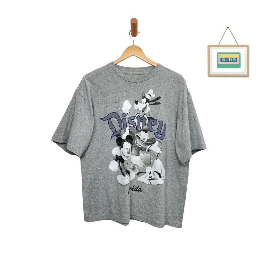 disney-vintage-t-shirt-schwarz-weiß-boxy-fit-xl-front