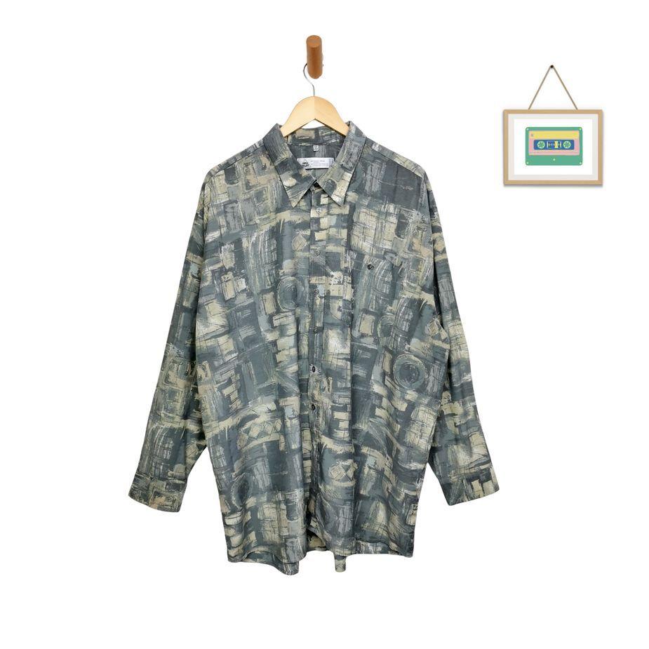 herren-vintage-hemd-abstraktes-muster-größe-3xl-front