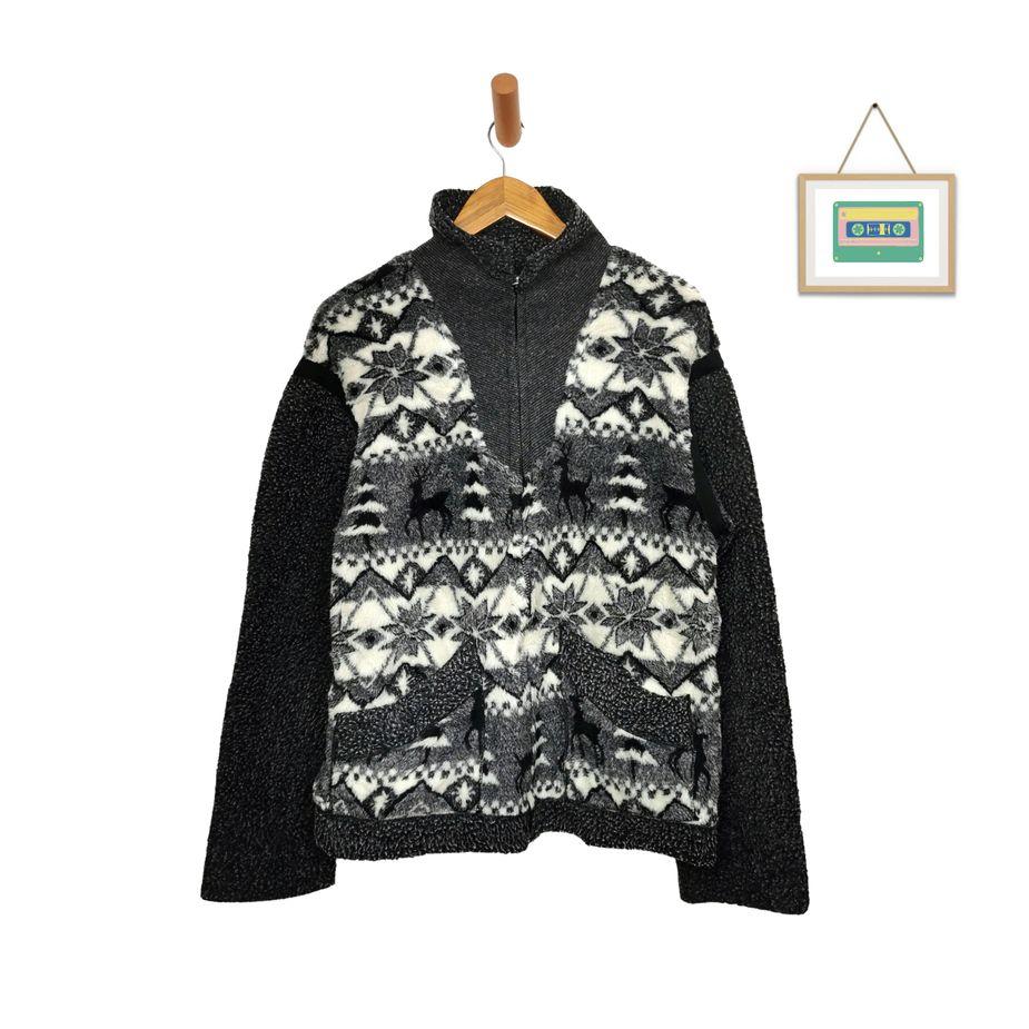vintage-frauen-fleecejacke-usa-winterliches-design-animal-print-jacken-front