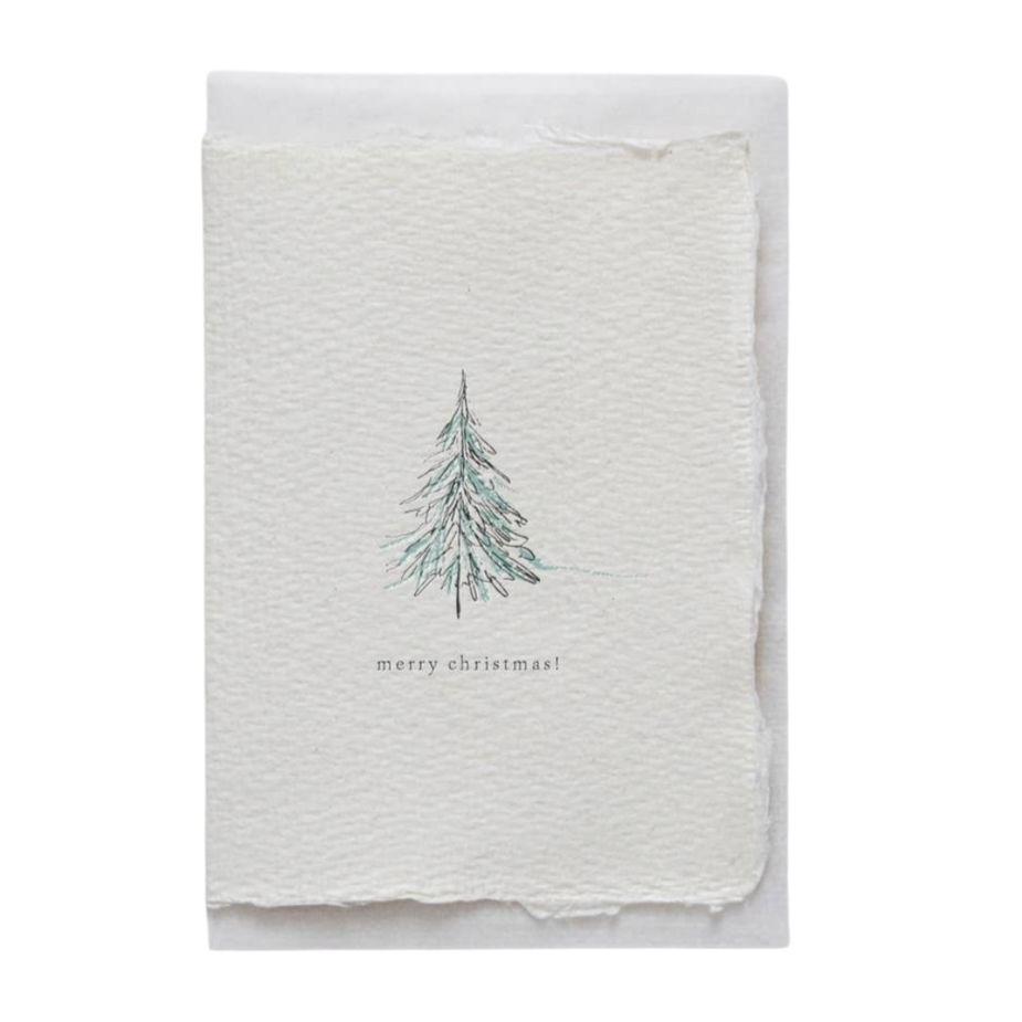 handemade-mini-karte-briefpapier-karte-weihnachtskarten-merry-christmas-geschenkkarte-front