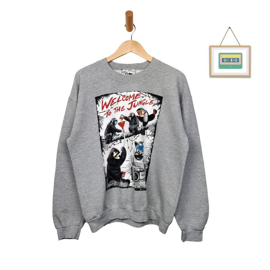 riot-society-usa-vintage-sweater-funny-animal-prints-herren-m-front