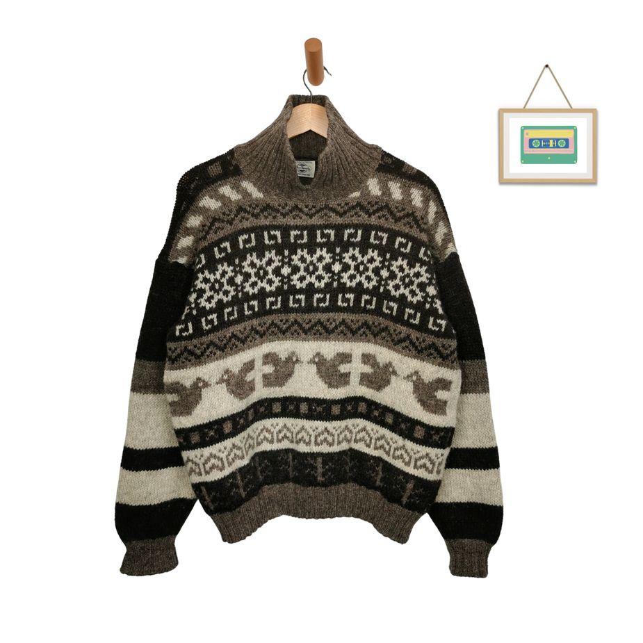 vintage-blue-family-herren-rollkragen-wollpullover-knitting-pattern-front